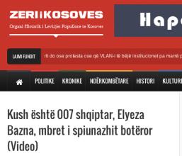 Zeri i Kosoves int